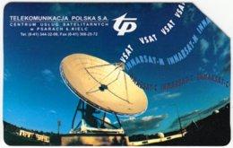 POLAND C-010 Magnetic Telekom - Communication, Satellite Dish - Used - Polen