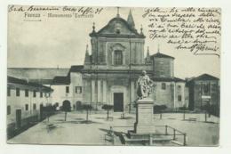 FAENZA - MONUMENTO TORRICELLI  - VIAGGIATA   FP - Ravenna