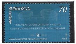 Armenia.2009 European Court. 1v: 70   Michel # 666 - Armenien