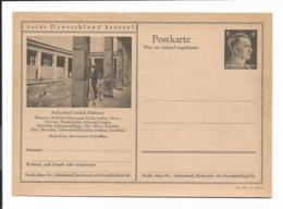 DR P 307 42-15-B26** - 6 Pf Hitler Bildpostkarte : Landeck (Schlesien) Hallenschwimmbad - Enteros Postales