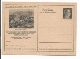 DR P 307 42-23-B14 ** - 6 Pf Hitler Bildpostkarte : Lähn Am Riesengebirge - Enteros Postales