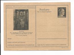 DR P 307 42-26-B11 ** - 6 Pf Hitler Bildpostkarte : Magdeburg - Enteros Postales