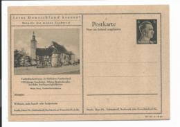 DR P 307 42-37-B12 ** - 6 Pf Hitler Bildpostkarte : Tauberbischofsheim - Enteros Postales