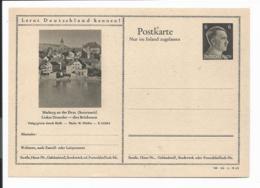 DR P 307 42-38-B19 ** - 6 Pf Hitler Bildpostkarte : Marburg An Der Drau - Ganzsachen
