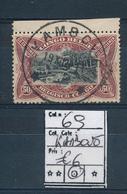 BELGIAN CONGO 1915 ISSUE COB 69 USED KAMBOVE - 1894-1923 Mols: Oblitérés