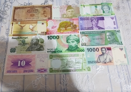 12 Banknotes UNC Price OFFERT - Other