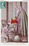 Nous Remercions Bien Nos Aimables Parents Qui, Par SAINT NICOLAS, Nous Envoient Ces Présents - Carte Colorée - Cartes Postales