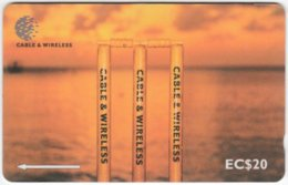ST. VINCENT & GRENADINES A-068 Magnetic Cable & Wireless - Landscape, Coast - 276CSVC - Used - San Vicente Y Las Granadinas