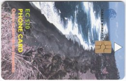 ST. VINCENT & GRENADINES A-078 Chip Cable & Wireless - Landscape, Coast - Used - San Vicente Y Las Granadinas