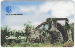 ST. VINCENT & GRENADINES A-082 Prepaid Cable & Wireless - Culture, Ruin - Used - San Vicente Y Las Granadinas