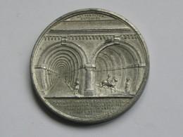 Médaille SIR ISAMBART MARC BRUNEL F.R.S & Co - Thames Tunnel 1200 Feet Long    **** EN ACHAT IMMÉDIAT **** - Professionnels/De Société