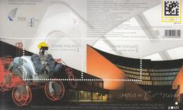 2008 Finland University Of Technology Science Math Robots Souvenir Sheet Complete MNH - Finland