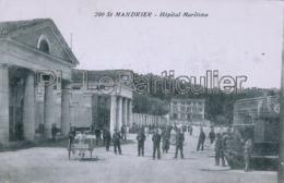 CPA   Saint Mandrier  Hôpital Maritime - Saint-Mandrier-sur-Mer
