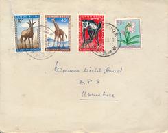 BELGIAN CONGO COVER FROM KAMITUGA TO USUMBURA - Congo Belge