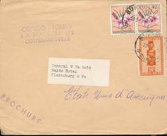 BELGIAN CONGO COVER FROM BUKAVU TO USA - Congo Belge
