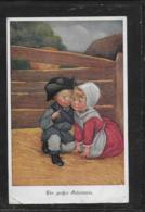 AK 0372  Ein Grosses Geheimnis - Künstlerkarte Von M. Munk Um 1916 - Cartes Humoristiques