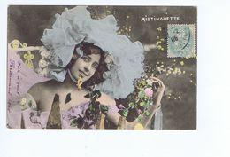 Mistinguette, Carte Colorisée - Music And Musicians