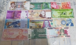 12 Banknotes UNC Price OFFERT - Andere
