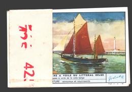 Liebig - Série Complète - Ancien Bateaux De Pêche à Voile Du Littoral Belge - En Français - Nr. 425 - état Parfait - Liebig