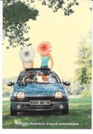 CPM - Carte Postale Publicitaire  - Renault Twingo - Voiture - Publicité