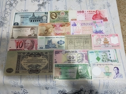 13 Banknotes UNC Price OFFERT - Andere