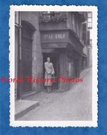 Photo Ancienne Snapshot - à Situer - Madame LE ROUX - Hôtel - BRETAGNE ? MANCHE ? - Le Guilvinec ? Lannion ? - Berufe