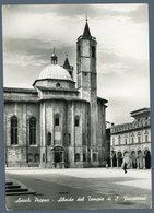°°° Cartolina - Ascoli Piceno Abside Del Tempio Di S. Francesco Viaggiata °°° - Ascoli Piceno