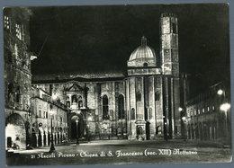 °°° Cartolina - Ascoli Piceno Chiesa Di S. Francesco Viaggiata °°° - Ascoli Piceno