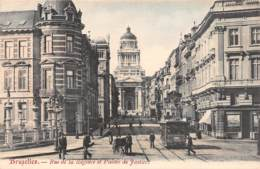 BRUXELLES - Rue De La Régence Et Palais De Justice - Avenues, Boulevards