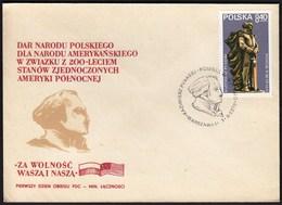 Poland 1979 / Kazimierz Pulaski / American Revolution Hero Monument, Statue - Celebrità