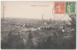 AUBOUE (54) LA GARE Et LES USINES. 1937. - Autres Communes