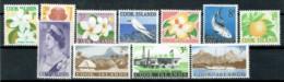Cookinseln 1963 Freimarken Michel 93 - 103 MNH - Islas Cook