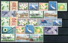 Cookinseln 1963/1967 Freimarken Michel 93 - 103, 135 - 147 MNH - Islas Cook