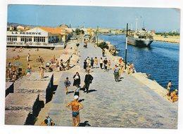PORT LA NOUVELLE -- 1967 -- La Plage Et Le Port ( Animée ,bateau) ....timbre , Cachet - Port La Nouvelle