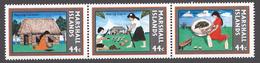 Marshall Islands 1987 Mi# 139-41** COPRA INDUSTRY - Marshall