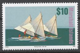 Marshall Islands 1994 Mi# 547** DEFINITIVE, SAILING VESSELS - Marshall