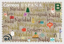 H01  Spain 2019  Christmas 2019  MNH Postfrisch - Spaans-Andorra