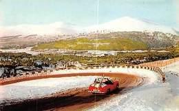 Scotland Road In The Cairngorms - The Ski, Convertible Auto Car, Winter - Inverness-shire