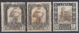 LIBIA - Lotto Di 3 Valori Nuovi MH/MNH: Yvert44, 45 E 50. - Libyen