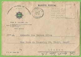 Lisboa - Companhia Colonial De Navegação - Marinha Mercante - Barco - Navio - Portugal - Lisboa