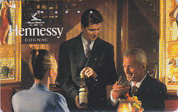 Télécarte Japon / 110-011 - ALCOOL FRANCE - COGNAC HENNESSY - ALCOHOL Japan Phonecard - ALKOHOL TK - 1019 - Werbung