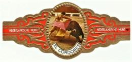 El Cordobes - N.º 4 - NEDERLANDSCHE MUNT - CORRIDA - TOURADA - Cigar Bands - Cintas De Charuto - Cigar Bands