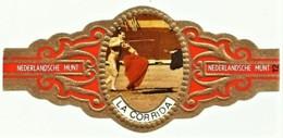 LA CORRIDA - N.º 12 - NEDERLANDSCHE MUNT - TOURADA - Cigar Bands - Cintas De Charuto - Cigar Bands