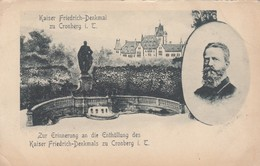Kaiser Friedrich-Denkmal Zu Cronberg I. T. , 1890s - Royal Families