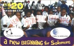 Solomon Island - SOL-REM-0004, C&W, Remote Memory, Children, 20 SI$, Used - Isole Salomon