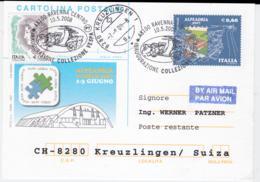 Italy Postal Stationary Ravenna 2008 Inaugurazione Collezione Vespa (G106-25) - Moto