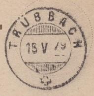 SG     TRÜBACH - ST. GALLEN - Lettres & Documents
