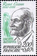 France Poste N** Yv:2283 Mi 2407 Yv:1,25 Euro René Cassin Nobel De La Paix - Frankreich