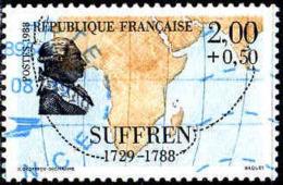 France Poste Obl Yv:2518 Mi:2656A Pierre André De Suffren Marin (Beau Cachet Rond) - Frankreich