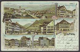 SG     WATTWIL  /  SUPER ANSICHTKARTE - SG St. Gallen